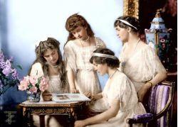Дети российского императора Николая II